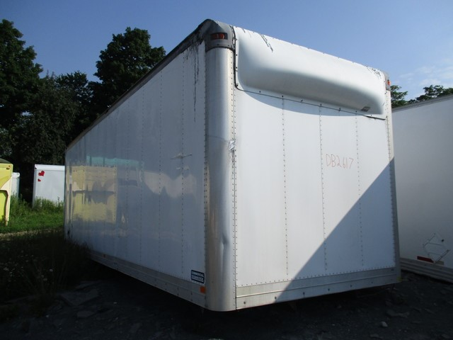 26 Ft Commercial Babcock Aluminum Dry Freight Truck Box