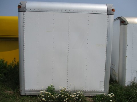 Morgan 24ft Aluminum Dry Freight Box For Sale In Ontario